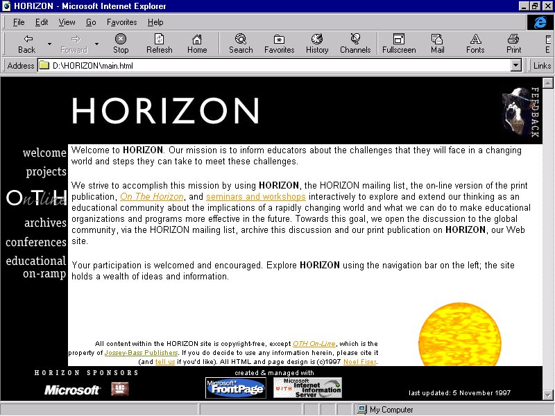 horizon microsoft